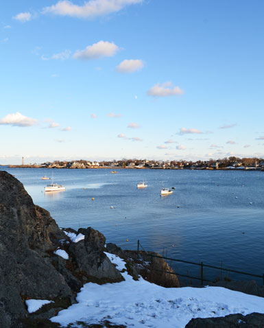 Marblehead Harbor view from Crocker Park, Marblehead, Ma.