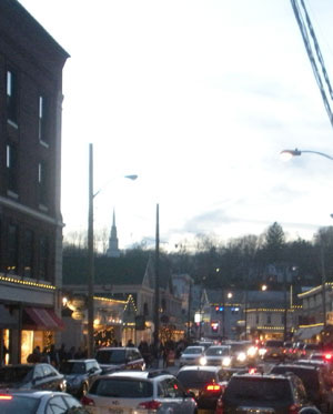 West Main St., Downtown Mystic, Ct.