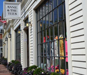 Annie & the Tees, S. Water St., Nantucket, Ma.