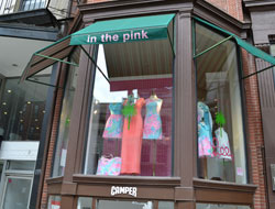 In the Pink, Newbury St., Boston, Ma.