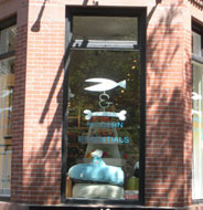 Fish & Bone, Modern Pet Essentials, Newbury St., Boston, Ma.