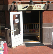 Raven Used Books, Newbury St., Boston, Ma.