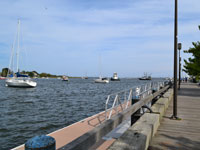 Waterfront Park boardwalk, Newburyport, Mass.