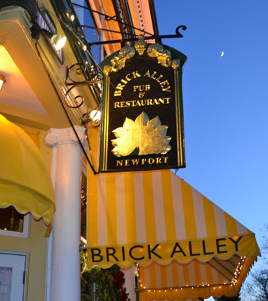 Brick Alley Pub and Restaurant, Thames St., Newport, R.I.