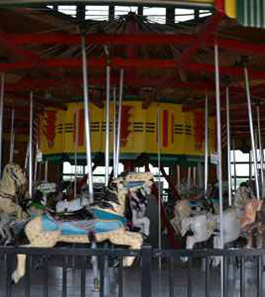 Carousel at Eastons Beach, First Beach, Newport, R.I.