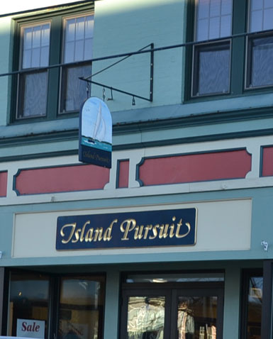 Island Pursuit, Thames St., Newport, R.I.