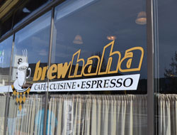 Brewhaha Cafe, Route 2, North Adams, Ma.