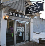 Dodero's Rock Shop & Frostfire Jewelers, Main St., White Mtn. Hwy., North Conway, N.H.
