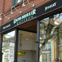 Don Muller Gallery, Main St., Northampton, Ma.