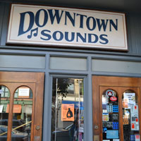 Downtown Sounds, Pleasant St., Northampton, Ma.