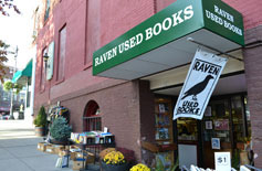 Raven Used Books, Old South St. off Main St., Northampton, Ma.