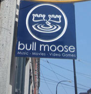 Bull Moose Music, Middle St., Portland, Maine