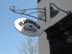 Flatbread Company, Commercial St. on waterfront, Portland, Maine