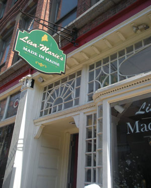 Lisa-Marie's Made In Maine, Exchange St., Portland, Maine