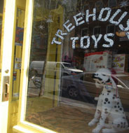 Treehouse Toys, Exchange St., Portland, Maine
