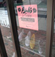 Berk's Shoes, Thayer St., Providence, R.I.