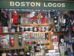 Boston Logos, North Canopy Quincy Market, Faneuil Hall Marketplace, Boston, Ma.