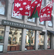 Boston Pewter Company, South Market, Faneuil Hall Marketplace, Boston, Ma.