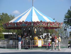 Carousel at Quincy Market, Rose Kennedy Greenway, Boston, Ma.