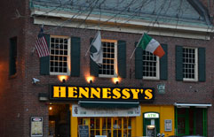 Hennessey's of Boston, Union St. near Quincy Market, Boston, Ma.