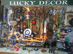 Lucky Decor, Quincy Market South Canopy, Faneuil Hall Marketplace, Boston, Ma.