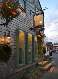 Bean & Leaf Cafe, Bearskin Neck, Rockport, Mass.