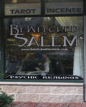 Betwitched in Salem Shop, Salem, Ma.