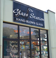 The Glass Station, Main St., Downtown Wakefield, R.I.