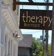 Therapy Boutique, Main St., Downtown Wakefield, R.I.