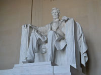 Lincoln Memorial statue, Washington, D.C.