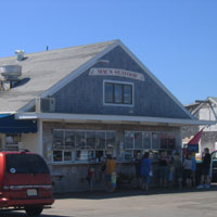 Mac's Seafood on the Pier, 265 Commercial St., Wellfleet Town Pier, Cape Cod