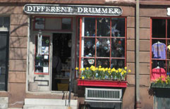 Different Drummer, West Main St., Wickford, R.I.
