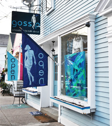 Gossip, boutique on Main St., Wickford