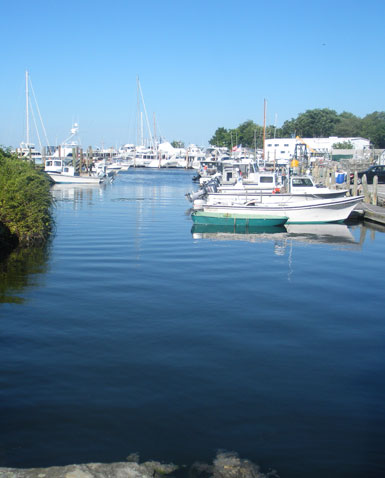 Wickford Harbor at end of Main St., Wickford, R.I.