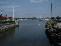 Wickford Harbor, Brown St., Wickford, R.I.