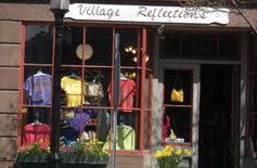 Village Reflections, West Main St., Wickford, R.I.