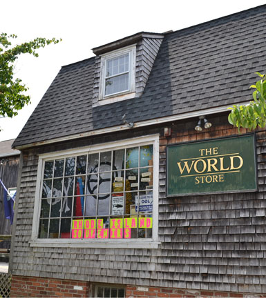 The World Store, West Main St., Wickford, R.I.