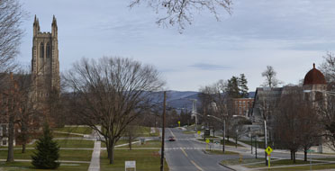 Williams College, Main St. (Route 2), Williamstown, Ma.