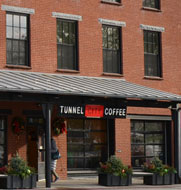 Tunnel City Coffee, Spring St., Williamstown, Ma.