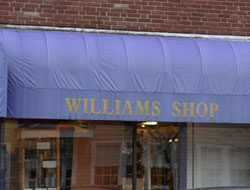 Williams Shop, Spring St., Williamstown, Ma.